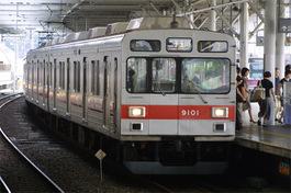 大井町線の運用に入った9001F