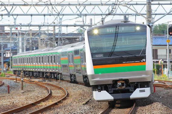 高崎線で運用を開始したE233系3000番台