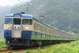 115系『青い海』号 浜金谷~保田