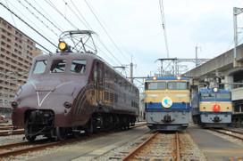 電気機関車3両