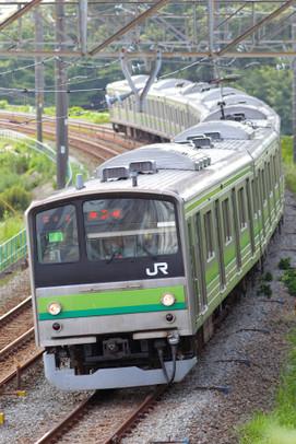 横浜線205系 長津田~成瀬