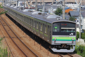 横浜線205系 成瀬~長津田