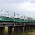 001 利根川鉄橋土手にて