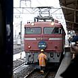 059 機関車連結準備