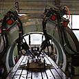 035 レール締結装置用4軸疲労試験機